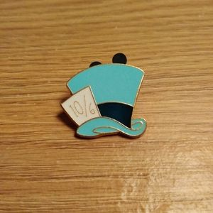 Mad Hatter Hat Disney Pin